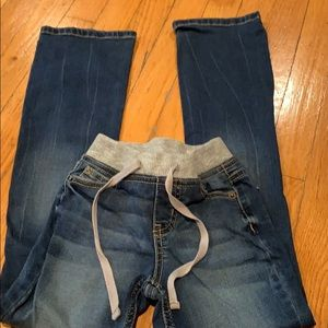 Justice girls bootcut jeans.